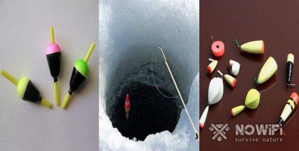 какие поплавки для зимней рыбалки