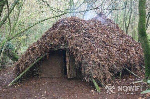 Как построить укрытие в лесу