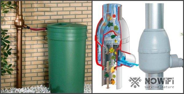 фильтр для очистки в водосточных трубах