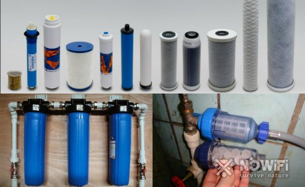 фильтры для очистки дождевой воды