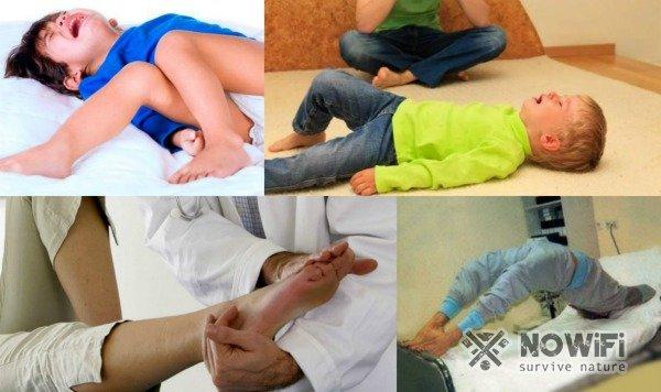 В указанном случае детки часто жалуются на судорожное состояние, чаще описанные моменты происходят до 5 лет.