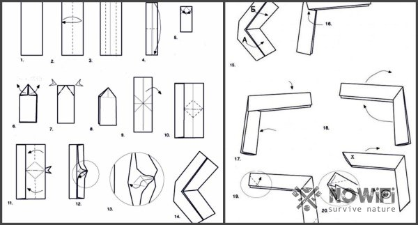 Как сделать оригами бумеранг?