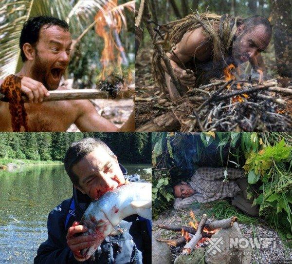 Фильмы о выживании в дикой природе