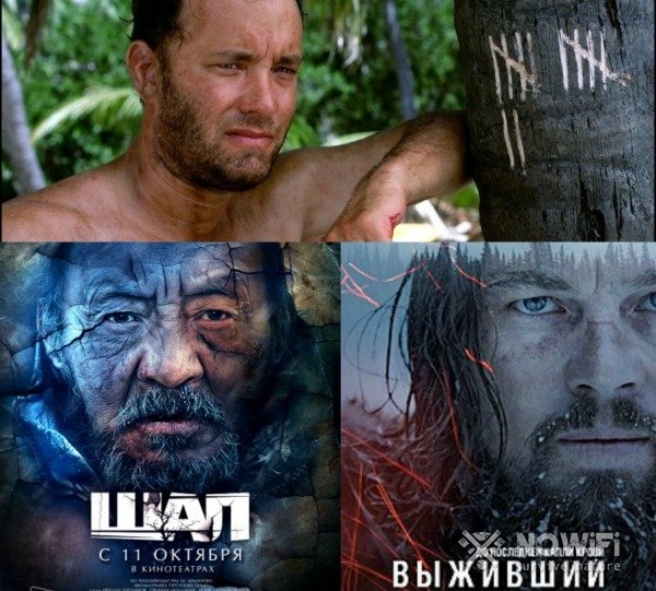 Лучшие фильмы про выживание в дикой природе