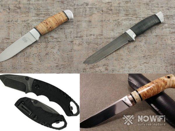 Виды ручек для ножа