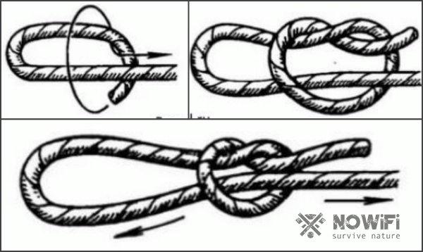 скользящий узел схема