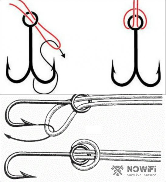Как вязать глухой узел