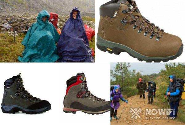 Лучшая обувь для похода