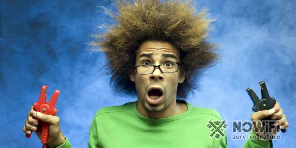 Действия при ударе электротоком дома