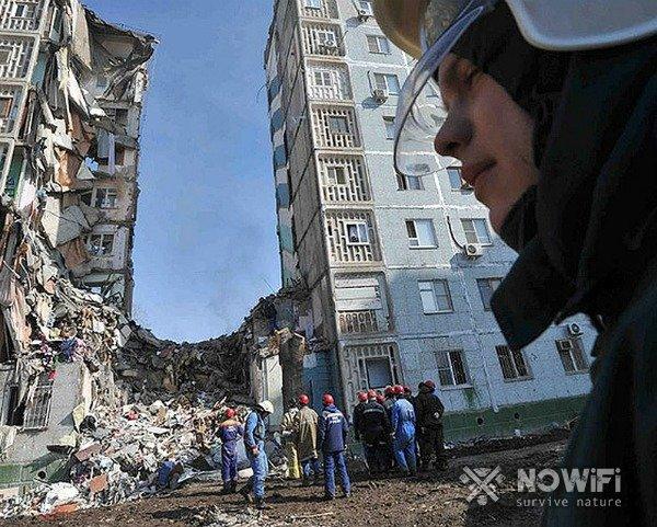 Действия при обрушении здания (завале)