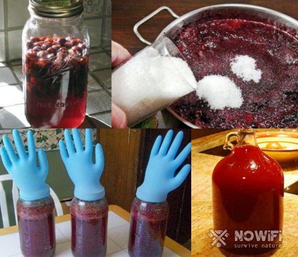 Как приготовить вино из варенья
