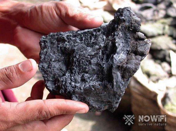 Условные обозначения полезных ископаемых