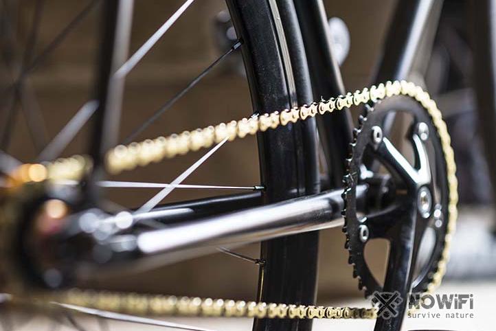 Как натянуть цепь на скоростном велосипеде