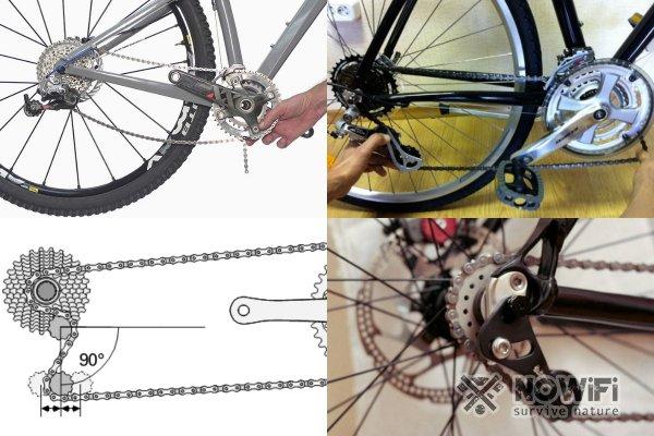 Почему слетает велосипедная цепь