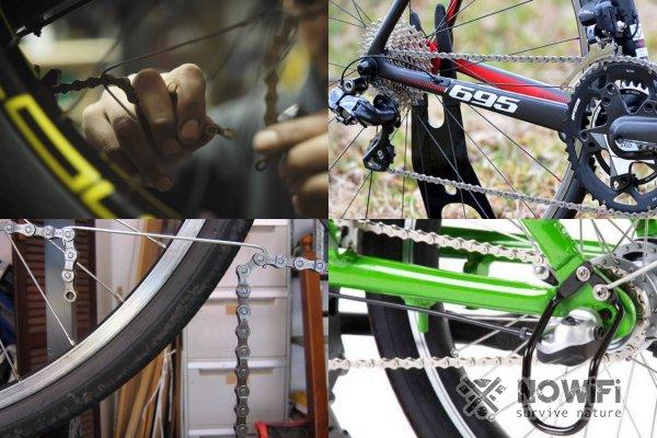 Как натянуть цепь на горном велосипеде